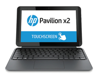 "HP Pavilion x2 10-k010ca 1.33GHz Z3736F 10.1"" 1280 x 800Pixel Touch screen Argento Ibrido (2 in 1)"