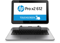 "HP Pro x2 612 G1 1.6GHz i5-4202Y 12.5"" 1366 x 768Pixel Touch screen Nero, Argento Ibrido (2 in 1)"
