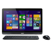 "Acer Aspire ZC-606-UR27 2GHz J1900 19.5"" 1600 x 900Pixel Touch screen Nero PC All-in-one"