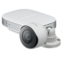 Samsung SNH-E6440BN IP security camera Esterno Capocorda Bianco