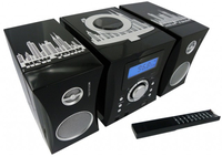 Bigben Interactive MCD04 - New-York Home audio micro system Nero, Bianco
