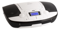 Bigben Interactive CD53BC Portable CD player Nero, Bianco