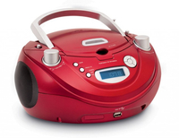Bigben Interactive CD56 Digitale Rosso radio CD
