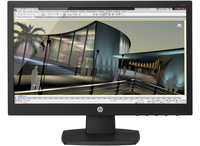 "HP V193 18.5"" HD Opaco Nero monitor piatto per PC"
