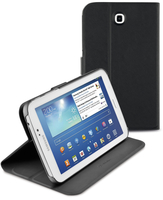 Cellularline Folio - Galaxy Tab 3 7.0 Custodia per tablet con innovativo stand multiangolo Nero