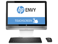 "HP ENVY 23-o014 2.9GHz i5-4570T 23"" 1920 x 1080Pixel Touch screen Argento PC All-in-one"