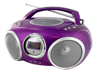 Bigben Interactive CD32 Personal CD player Metallico, Viola