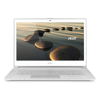 "Acer Aspire S7-392-74508G25tws 1.8GHz i7-4500U 13.3"" 1920 x 1080Pixel Touch screen Bianco, Argento Computer portatile"