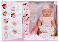 BABY born Interactive Girl Multicolore bambola