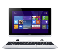 "Acer Aspire Switch 10 SW5-012P-11L5 1.33GHz Z3735F 10.1"" 1280 x 800Pixel Touch screen Argento Ibrido (2 in 1)"