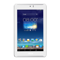 ASUS Fonepad 7 ME372CL-1C015A 8GB 3G 4G Bianco tablet