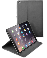 Cellularline Folio - iPad Air 2 Custodia per iPad Air 2 con stand multiangolo Nero