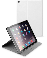 Cellularline Folio - iPad Air 2 Custodia per iPad Air 2 con stand multiangolo Bianco