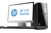 HP 110-520nfm 2.41GHz J2900 Microtorre Nero PC