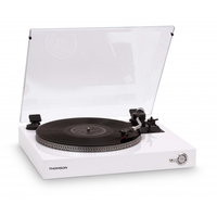 Thomson TT201 Direct drive audio turntable Bianco piatto audio