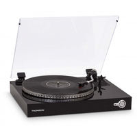 Thomson TH329094 Direct drive audio turntable Nero