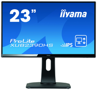 "iiyama ProLite XUB2390HS-B1 23"" Full HD AH-IPS Opaco Nero monitor piatto per PC LED display"