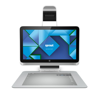 "HP Sprout 23-s010na 3.2GHz i7-4790S 23"" 1920 x 1080Pixel Touch screen Argento PC All-in-one"