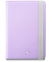 "Cellularline Stand Case - Tablet Fino a 7"" Custodia universale per tablet, elegante e pratica Viola"