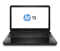 "HP 15-g260nr 2GHz A8-6410 15.6"" 1366 x 768Pixel Touch screen Nero Computer portatile"