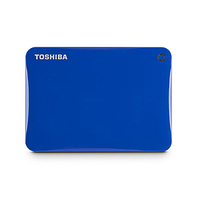 Toshiba 500GB Canvio Connect II 500GB Blu disco rigido esterno