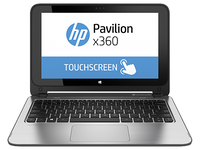 "HP Pavilion x360 11-n108tu 0.8GHz M-5Y10c 11.6"" 1366 x 768Pixel Touch screen Argento Ibrido (2 in 1)"