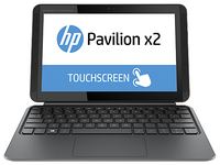 "HP Pavilion x2 10-j032tu 1.33GHz Z3745D 10.1"" 1280 x 800Pixel Touch screen Argento Ibrido (2 in 1)"