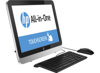 "HP 22-2150na 1.9GHz i5-4460T 21.5"" 1920 x 1080Pixel Touch screen Nero, Argento PC All-in-one"