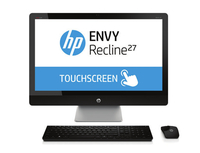 "HP ENVY Recline 27-k450na 1.9GHz i5-4460T 27"" 1920 x 1080Pixel Touch screen Argento PC All-in-one"