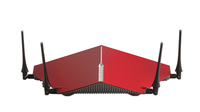 D-Link DIR-885L/R Dual-band (2.4 GHz/5 GHz) Gigabit Ethernet Nero, Rosso router wireless