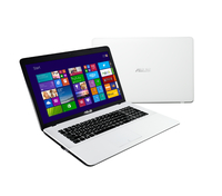 "ASUS F751MA-TY201H 2.16GHz N3540 17.3"" 1600 x 900Pixel Bianco Computer portatile"