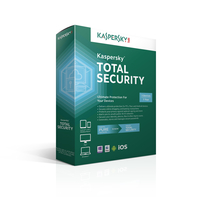 Kaspersky Lab Total Security, 3U, 1Y Base license 3utente(i) 1anno/i DUT