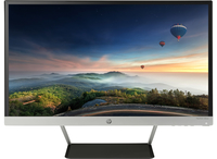 "HP 23cw 23"" Full HD IPS Opaco Nero, Argento monitor piatto per PC"