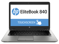 "HP EliteBook 840 G2 Notebook PC (ENERGY STAR) 2.3GHz i5-5300U 14"" 1920 x 1080Pixel Touch screen Nero, Argento Computer portatile"