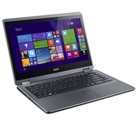 "Acer Aspire R 14 R3-471TG-54CM 2.2GHz i5-5200U 14"" 1366 x 768Pixel Touch screen Nero, Argento Ibrido (2 in 1)"