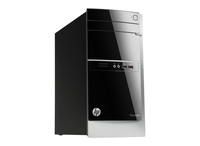 HP Pavilion 500-510ns 3.2GHz i7-4790S Scrivania Nero, Bianco PC