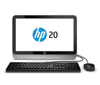 "HP 20-2312in 2.41GHz J2900 19.45"" 1600 x 900Pixel Argento PC All-in-one"
