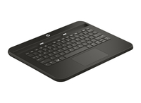 HP Pro 10 EE G1 Keyboard Base QWERTY Inglese Nero tastiera per dispositivo mobile