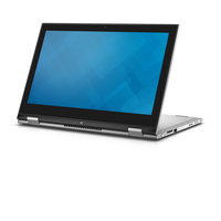 "DELL Inspiron 7348 2.4GHz i7-5500U 13.3"" 1920 x 1080Pixel Touch screen Nero, Argento Ibrido (2 in 1)"
