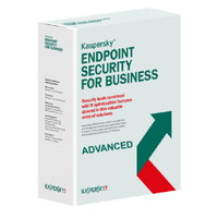 Kaspersky Lab Endpoint Security for Business Advanced, 1000-1499u, 2Y, GOV Government (GOV) license 1000 - 1499utente(i) 2anno/i