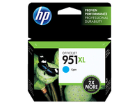 HP 951XL High Yield Cyan Original Ink Cartridge Twin Pack 1500pagine Ciano cartuccia d