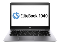 "HP EliteBook Folio 1040 G2 2.6GHz i7-5600U 14"" 1920 x 1080Pixel Touch screen 3G 4G Argento Computer portatile"