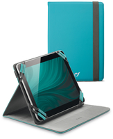 "Cellularline Stand Case - Tablet Fino a 7"" Custodia universale per tablet, elegante e pratica Verde"