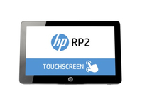 "HP RP2 Retail System Model 2030 2.41GHz J2900 14"" 1366 x 768Pixel Touch screen terminale POS"