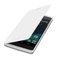 Acer Liquid Z220 Flip Case White Custodia a libro Bianco