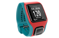 TomTom Runner Cardio Touch screen Bluetooth Rosso, Turchese orologio sportivo