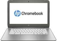 "HP Chromebook 14-x011nf 2.3GHz K1 14"" 1366 x 768Pixel Bianco Chromebook"