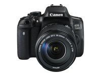 Canon EOS 750D + EF-S 18-135 IS STM Kit fotocamere SLR 24.2MP CMOS 6000 x 4000Pixel Nero