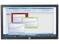 "HP ProDisplay P222va Head Only 21.5"" Full HD VA Opaco Nero monitor piatto per PC"