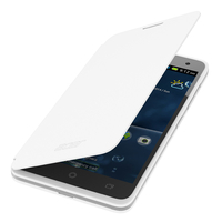 Acer Liquid Z520 Flip Case White Custodia a libro Bianco